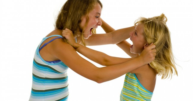 children_argue_pull_hair_siblings_problem